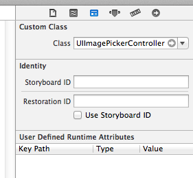 identify inpector panel of Xcode